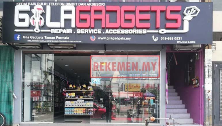 Kedai Repair Handphone KL | GILA GADGETS