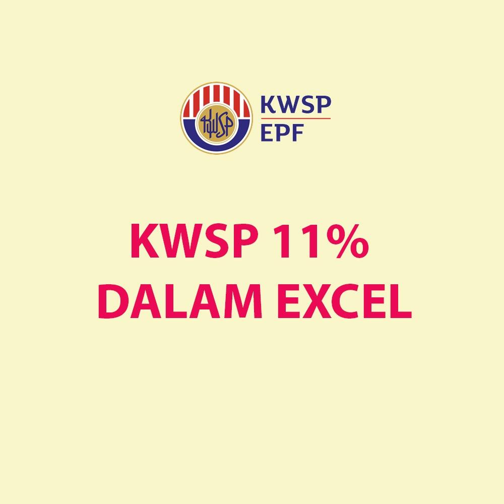 Kadar Caruman KWSP 11 Peratus